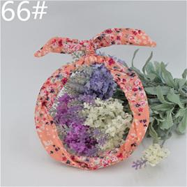Scarf Headband - Pink Floral No. 66