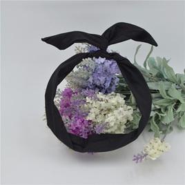 Scarf Headband *PLAIN BLACK*  STYLE 1901