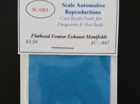 SCARS 1/25 Flathead Fenton Exhaust Manifolds (EC-047)
