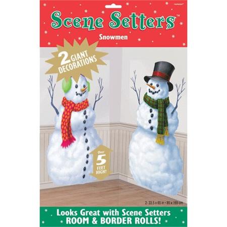 Scene Setter - Snowmen
