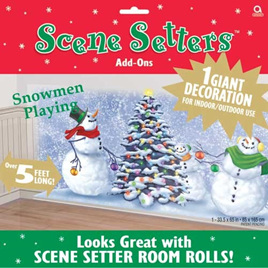 Scene Setter - Snowmen Playing