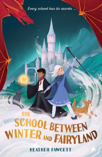 School between Winter and Fairyland
