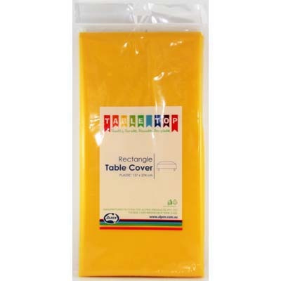 School Bus Yellow Table Cover
