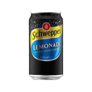 SCHWEPPES LEMONADE 375ML CAN