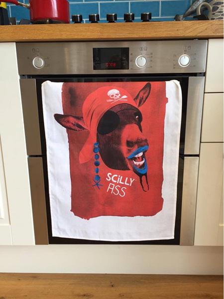 Scilly Ass Tea Towel