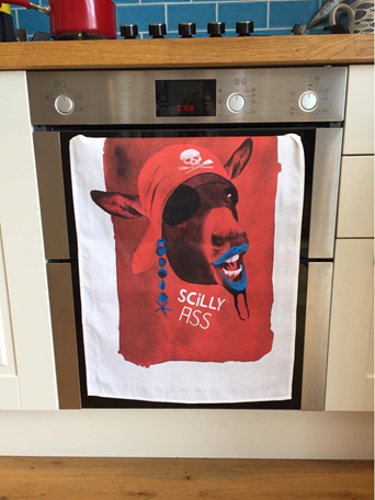 Scilly Ass Tea Towel