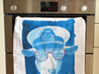 Scilly Billy Tea Towel - Blue