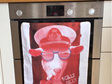 Scilly Billy Tea Towel - Red