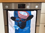 Scilly Moo Tea Towel
