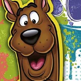 Scooby Doo - Smiling  beverage Napkins
