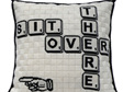 scrabble cushion