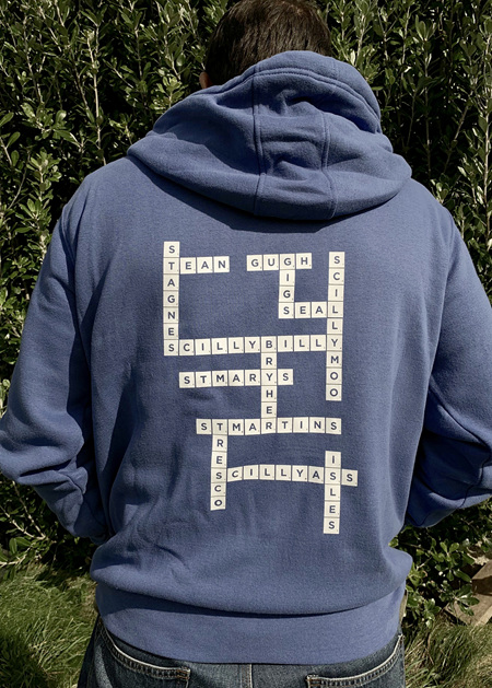 Scrabble Hoodie - Royal