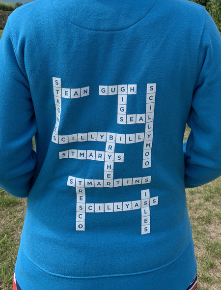 Scrabble Hoodie - Scilly Sea