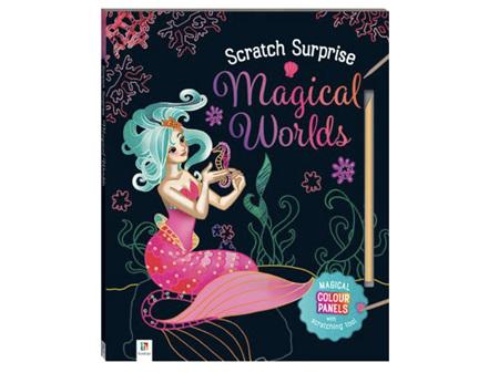 Scratch Surprise Magical Book