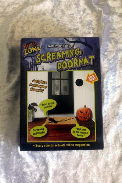 Screaming Pressure Sensor Door Mat