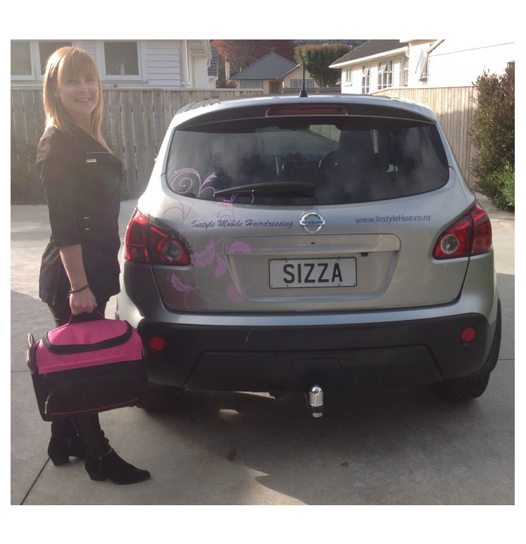 Jo and Instyle Car