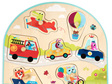 B. Toys Vehicles on the Go! Wooden Puzzle