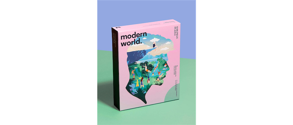 Modern World 1046 Shaped Mental Health Jigsaw Puzzle - Dreamer  - Click image for more information