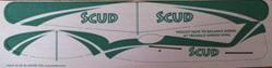 SCUD Panel Glider (laser cut)