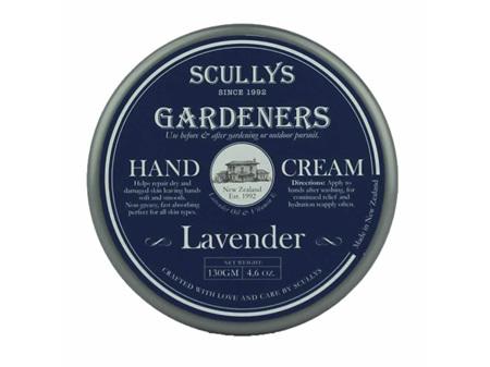 Scullys Gardeners Lavender Hand Cream 130g