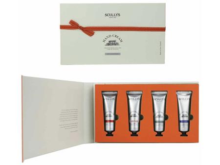 SCULLYS Mini Hand Cream Collection Gift Box 4 x 30g
