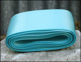 Sea Green Wedding Car Ribbon