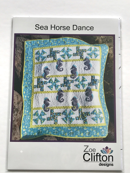 Sea Horse Dance Quilt Pattern