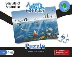 Sea Life of Antarctica Puzzle