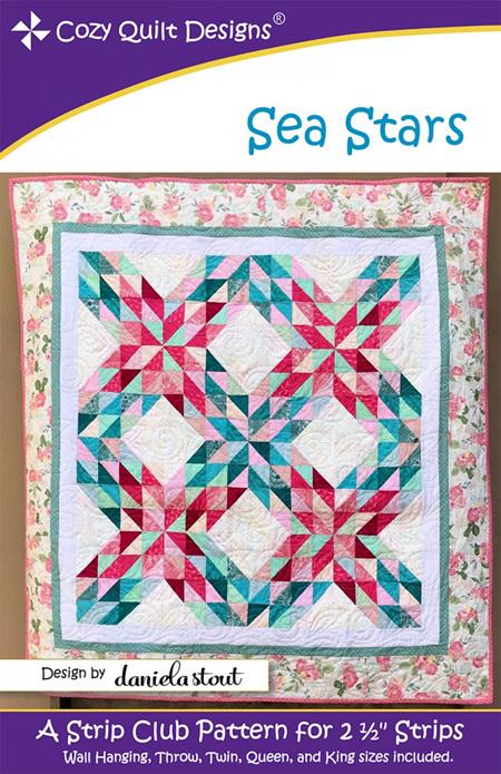 Sea Stars Quilt Pattern