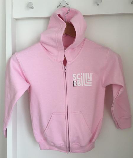 Sea Thrift Pink Kids' Hoodie - Zipped