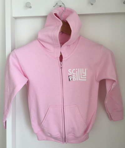 Sea Thrift Pink Kids' Hoodie - Zipped