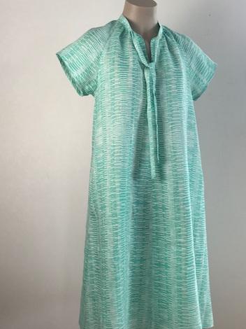 Seabreeze linen Haru dress