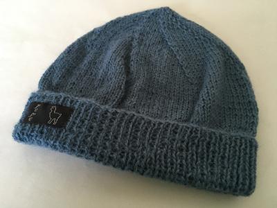 Seachange Knitted Hat 4 Ply 100% Alpaca