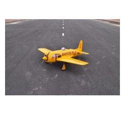 Seagull Models Grumman F8F-2 Bearcat 33cc Size (Yellow)