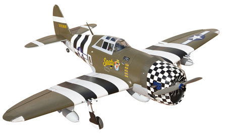 Seagull Models P47G Thunderbolt 60 Size