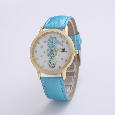 Seahorse Watch - Blue