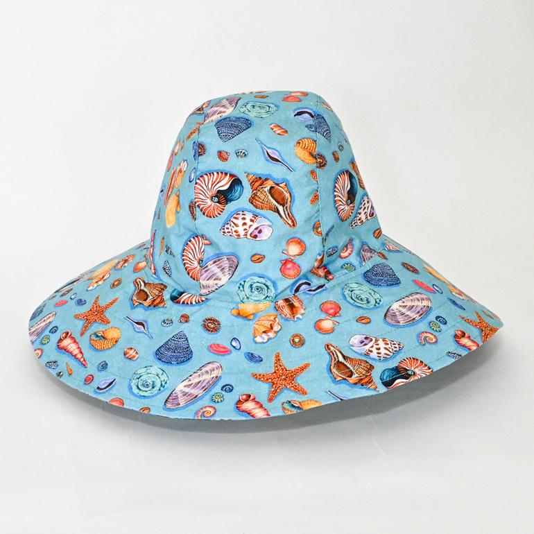 Seashells  Sombrero Hat - Adult size large