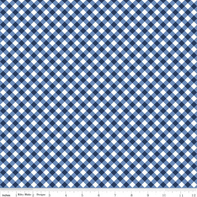 Seaside - Gingham Navy
