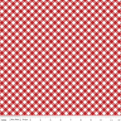 Seaside - Gingham Red