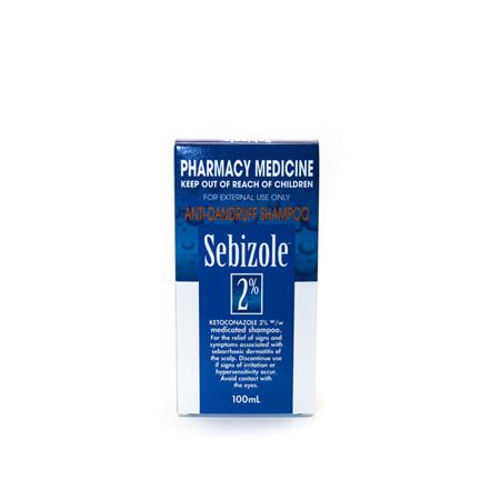 Sebizole 2% Anti-Dandruff Shampoo