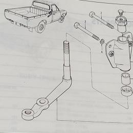 Sec 121 - Steering Idler Arm