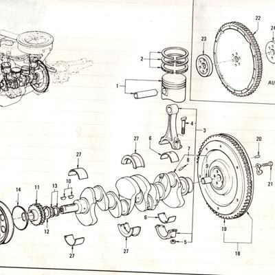 Sec 6 - Piston, Crankshaft and Connecting Rod