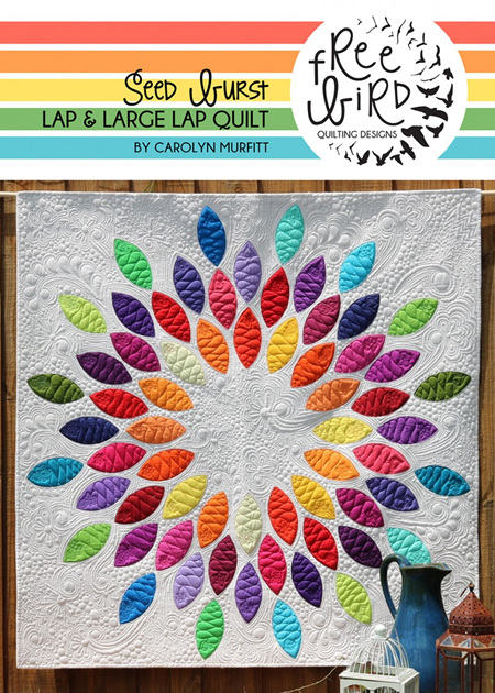 Seed Burst Quilt Pattern and Template Set Bundle