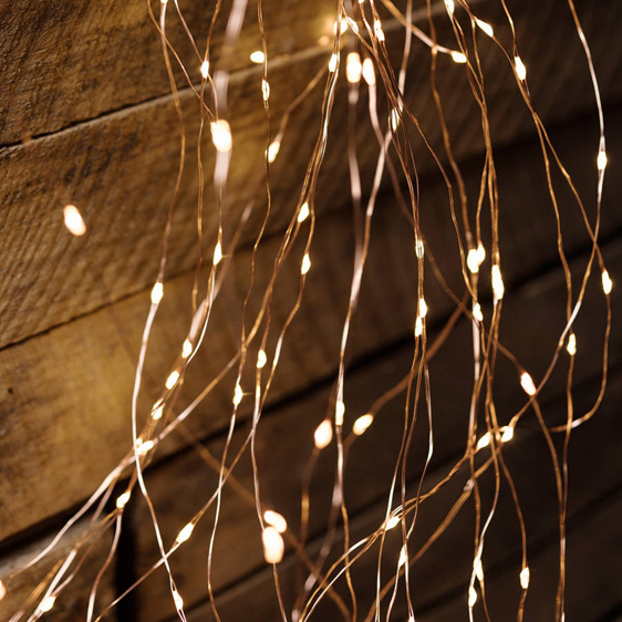 Plug In Seed Micro Led 8 Branch Lights 160 Leds With