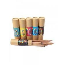 Seedling 12 Jumbo Pastel Natural Coloured Pencils