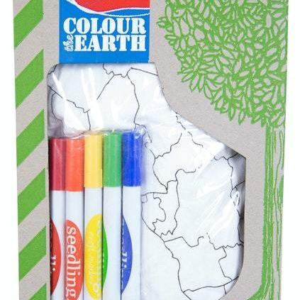 Seedling colour the earth