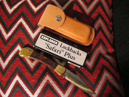 Seki Japan Explorer Safari Plus Lockback (NG 467)