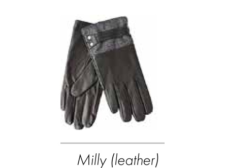 SELect Glove Leather Milly Black