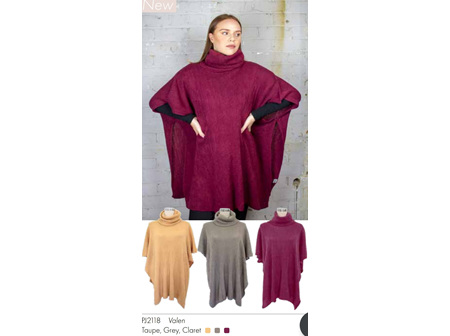 SELect Poncho Valen Taupe
