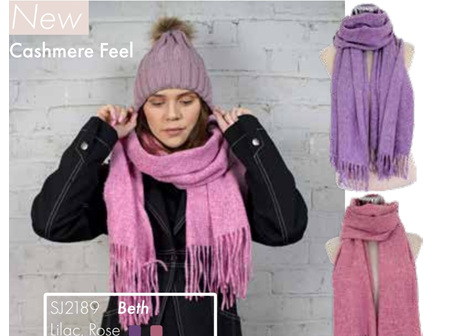 SELect Scarf Beth Lilac